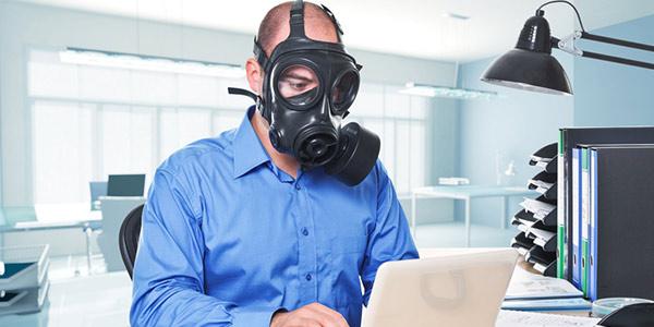 L'aria dell'ufficio è più inquinata di quella esterna
