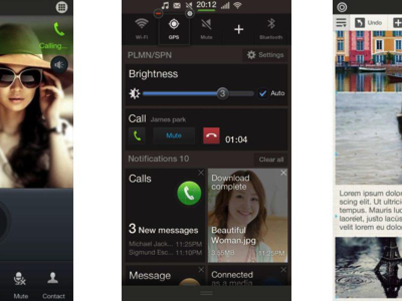 samsung tizen android galaxy s5 screenshot mobile world congress 2014 so sammobile