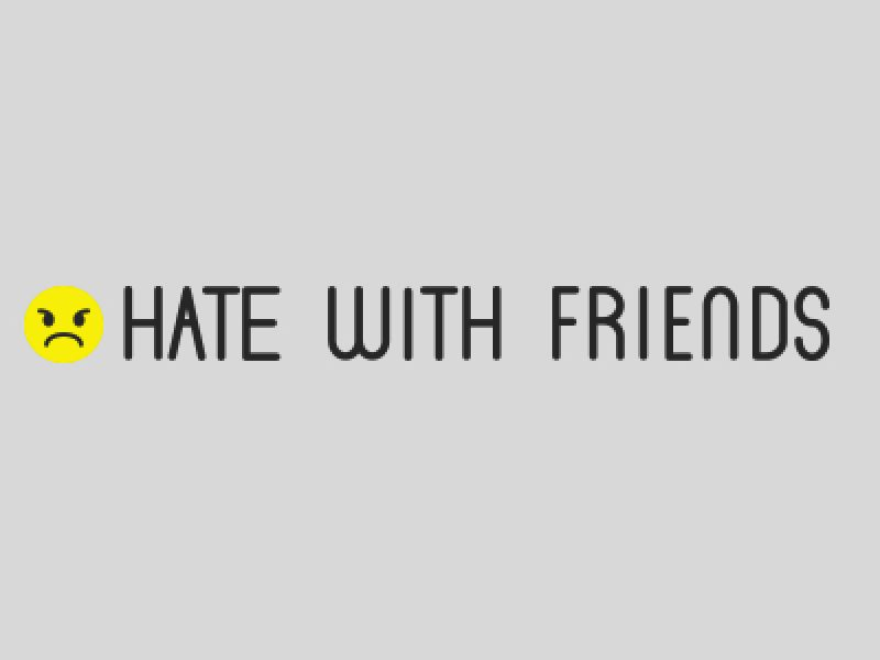 hatewithfriends, hate, with, friends, facebook, chris, backer