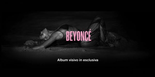 Beyoncé lancia a sorpresa il suo nuovo album | E iTunes va in crash
