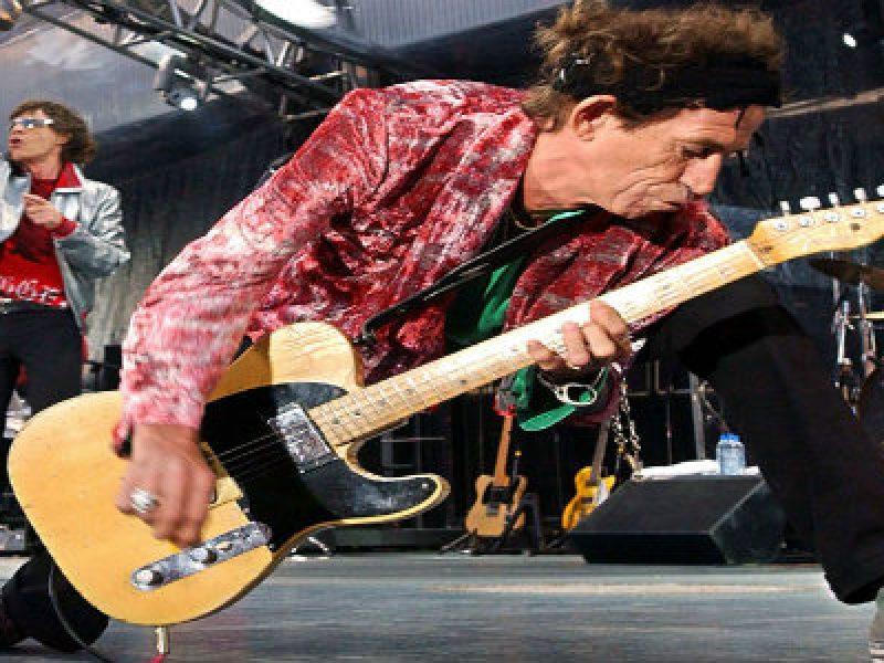 keith richards rolling stones 70 anni candeline rock tour mondiale