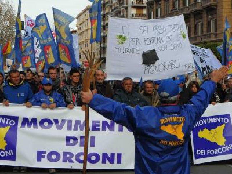 le-proteste-del-movimento-dei-forconi
