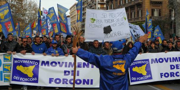 Continuano i disagi dei Forconi in Veneto e in Valle D'Aosta