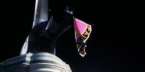"""U Liotru in rosanero"": la beffa dei palermitani ai tifosi catanesi"
