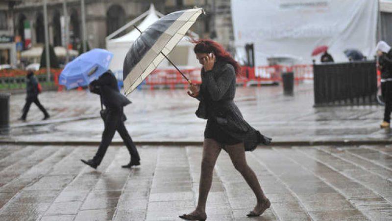 Maltempo, temporali e forte vento da Nord a Sud