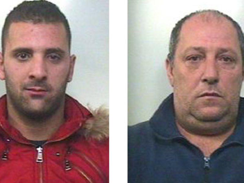 mannino biagio arrestato, mannino giuseppe arrestato, pizzo adrano, pizzo ad agricoltori catanese,