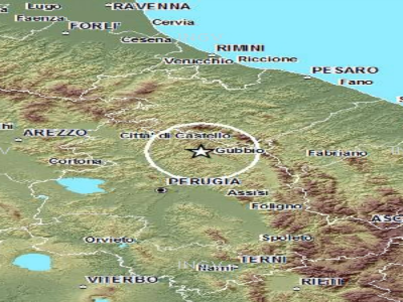 terremoto gubbio 18 dicembre 2013