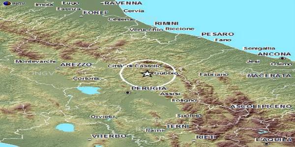 Terremoto, quattro scosse in Umbria | La più potente di magnitudo quattro