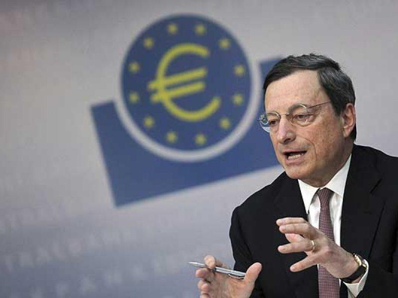 draghi Pil eurozona, Draghi tassi eurozona, Draghi costo denaro eurozona, Draghi bce, Draghi Stime crescita banca centrale europea, Draghi bce inflazione