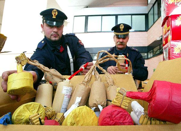Palermo, prime operazioni anti botti illegali | Sequestrati 17 chili di materiale esplosivo