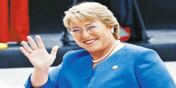 Michelle Bachelet è il nuovo presidente del Cile  | Eletta per la seconda volta con il 62,1 % dei voti