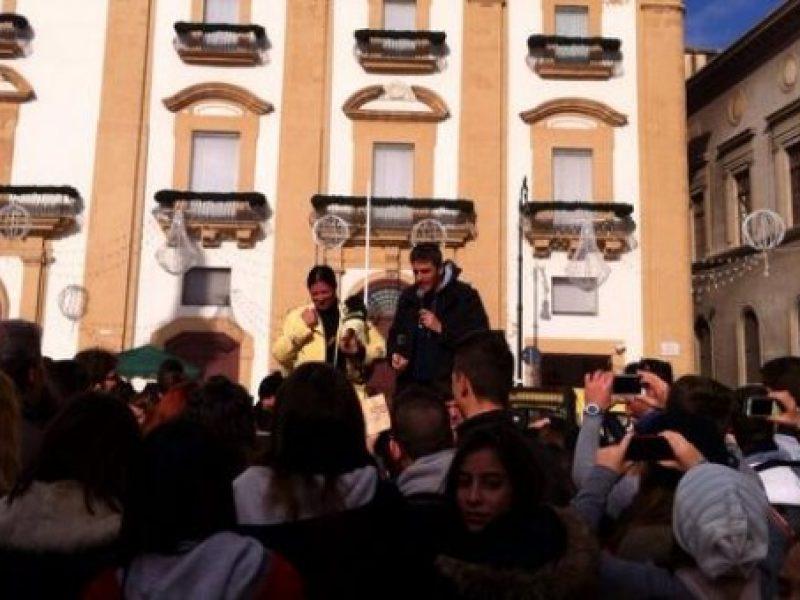 palermo manifestazioni palermo ex pip studenti vucciria