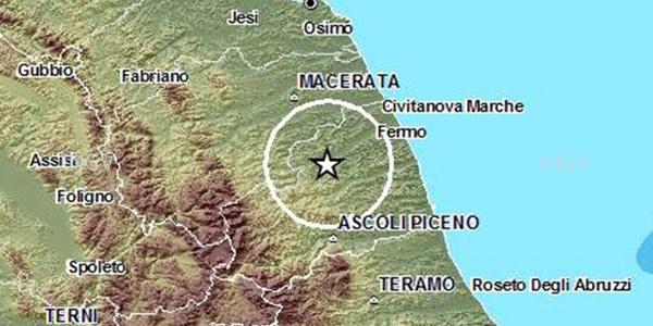 Terremoto nella notte tra Ascoli e Macerata | Diverse le scosse di assestamento