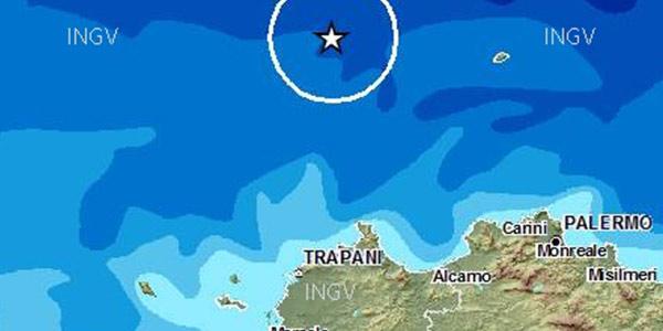 Forte scossa di terremoto al largo di Palermo e Trapani