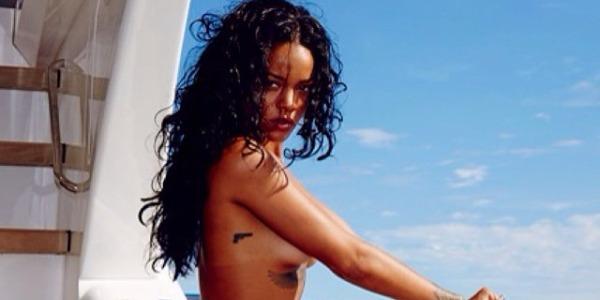 Rihanna in Brasile e le foto hot che impazzano sul web