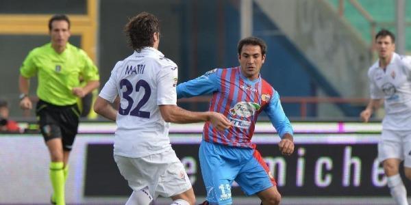 Catania sconfitto dalla Fiorentina (0-3) | Apre Fernandez, chiude Matri
