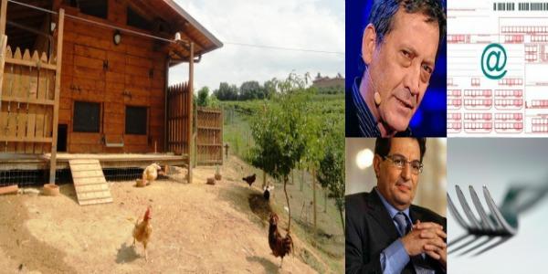 Nella fattoria dell'Ars Alamia e Sperandeo chiedono i diritti d'autore | Torta Savoia e Uccello Mozzato, se il cognome diventa opera d'arte