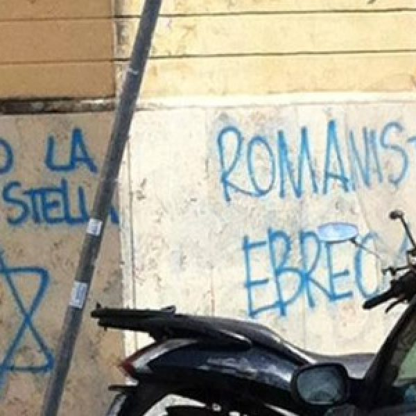 Roma, l'autore delle minacce agli ebrei | è un 29enne legato a Forza nuova