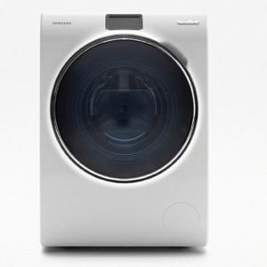 Samsung presenta gli elettrodomestici smart tra for Lavatrice samsung crystal blue