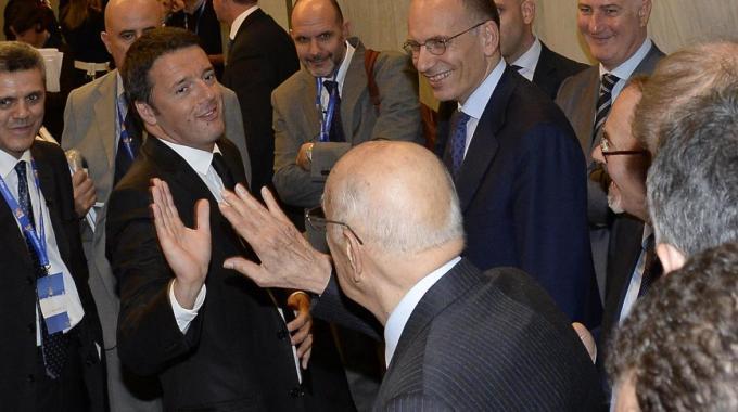 Letta – Renzi, un'ora di colloquio | Posizioni distanti e si parla già di totoministri