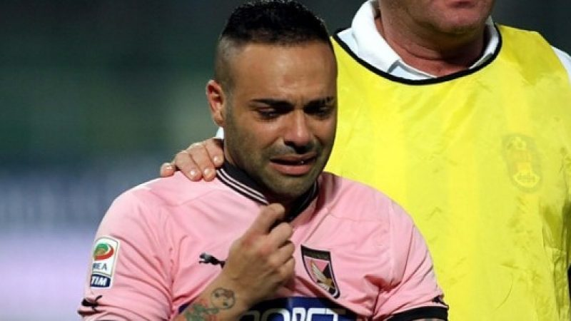 Miccoli e il Palermo deferiti per gli insulti al giudice Falcone
