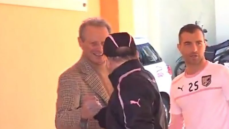 Zamparini fa visita al Palermo. Iachini recupera Barreto, dubbio Belotti