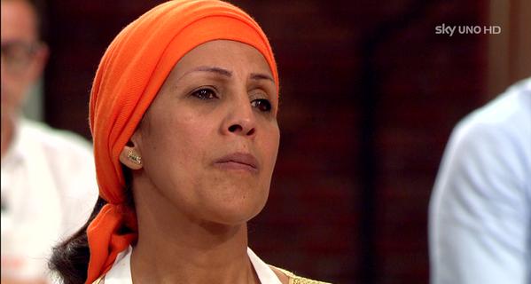 Rachida eliminata da Masterchef Italia   Amore e odio per la marocchina /FOTO