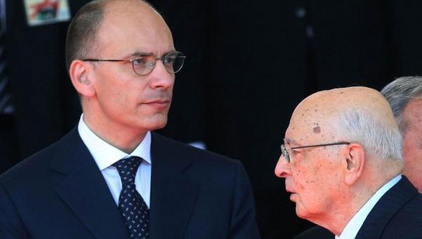 L'ultimo giorno di Enrico Letta premier | Tutte le opzioni del presidente Napolitano