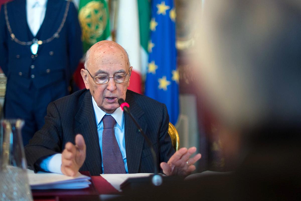 """Il presidente Napolitano sull'Italicum:   """"Auspico adeguato consenso parlamentare"""""""