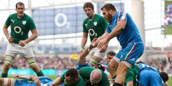 Rugby, World Cup. Domenica l'Italia sfida l'Irlanda: Parisse ci sarà, in tribuna Castrogiovanni