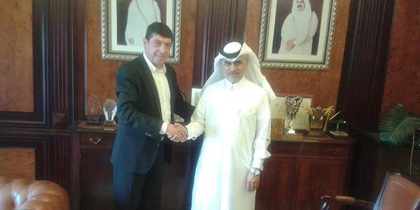 Fiasconaro incontra lo sceicco del Qatar | In autunno aprirà un negozio in Medio Oriente