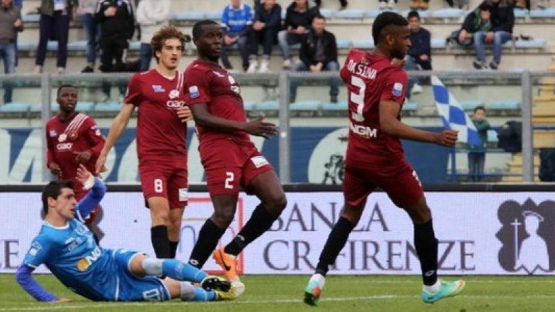 Torna a vincere in casa l'Empoli. Crolla il Latina, il Cittadella fa suo il derby