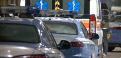 polizia. ambulanza, roma, guardia giurata spara alla ex, vigilante spara, donna grave