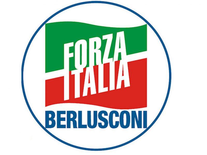 Forza italia presenta il simbolo per le europee sotto la for Senatori di forza italia