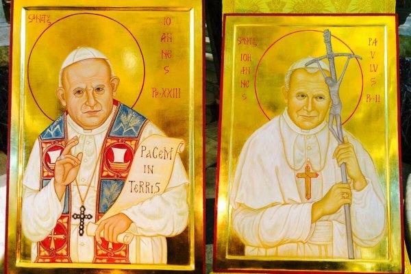 Il giorno di Angelo Roncalli e Karol Wojtyla | Due santi per rafforzare il papato