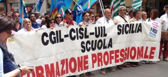 Formazione, lavoratori in piazza | Presidio a Roma davanti al Mise