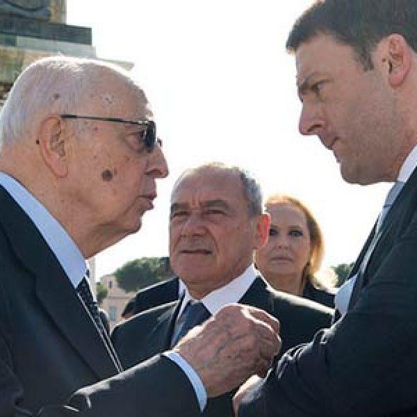 astensionismo, Giorgio Napolitano, Matteo Renzi, napolitano, napolitano astensione, referendum, referendum trivelle, Renzi, renzi astensione