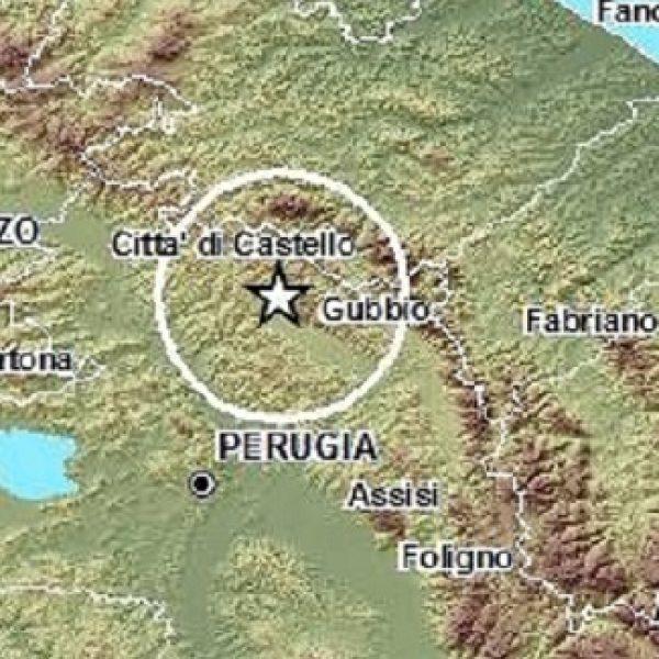 Terremoto di magnitudo 3.3 tra Umbria e Marche