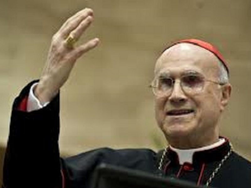150 mila euro Bambin Gesù, Bambin Gesù, Bertone, Bertone restituisce 150 mila euro, cardinale Bertone, Mariella Enoc, tarcisio bertone