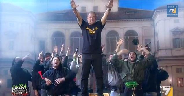 Genny a'carogna al Quirinale /VIDEO | Maurizio Crozza nel Paese delle Meraviglie