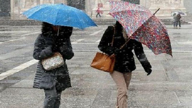 Nuova perturbazione sull'Italia, piogge da Nord a Sud