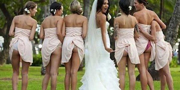 Mostrare il lato B anche il giorno del matrimonio: la nuova tendenza social