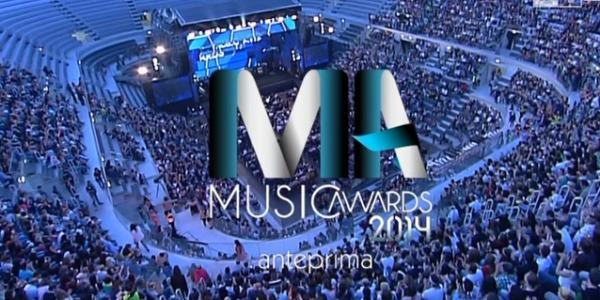 Music Awards 2014, i premi dei cantanti italiani