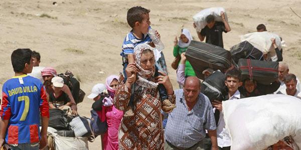 Iraq, mezzo milione di abitanti via da Mosul   La città in mano ai ribelli qaedisti