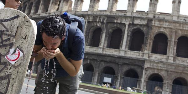 Meteo, ecco l'anticiclone Flegetone con 38°C | Caldo torrido in Italia e in Europa