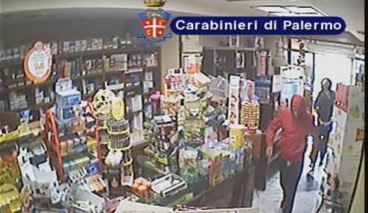 Palermo, violenta rapina ad un tabacchi: un arresto$