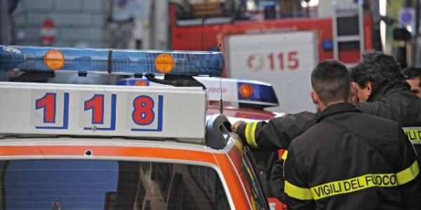 Colfiorito (Perugia): scontro tra un tir ed un'auto, c'è una vittima