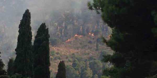 Roghi in Sicilia, allarme a Sciacca e Giardini Naxos | A Palermo canadair in azione su Poggio Ridente