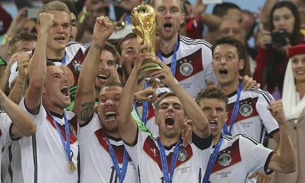 Ranking Fifa: dominio Germania. Caduta libera per l'Italia al 14°posto