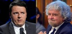 bocciata proposta chiti, esito referendum, falsa scheda senato, grillo contro renzi, Grillo denuncia Renzi, La Banda degli onesti grillo, proposta Chiti, referendum, renzi contro grillo, scheda elettorale Senato